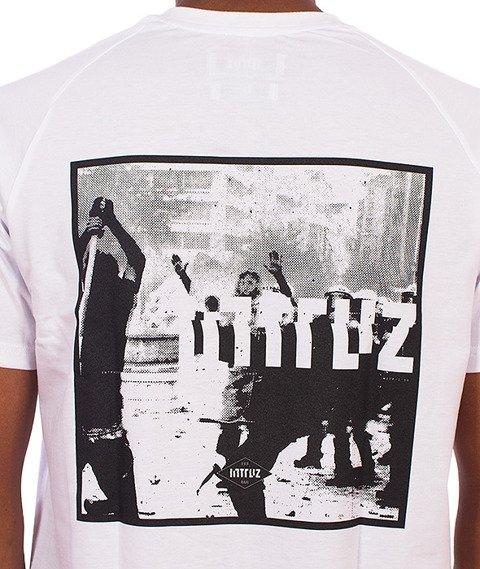 Intruz-Riots T-Shirt Biały
