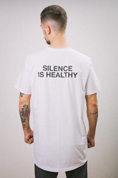 Intruz-Silence T-Shirt Biały