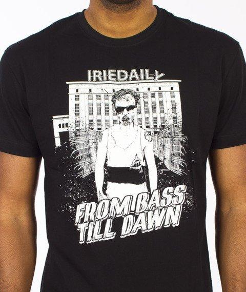 Iriedaily-Bass Till Dawn T-shirt Black