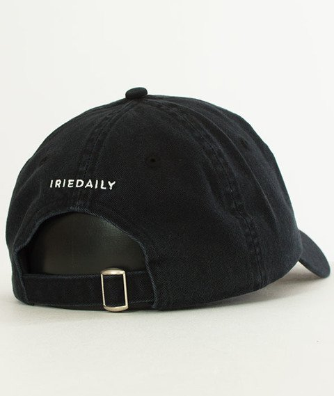 Iriedaily-Dad Flag Snapback Black