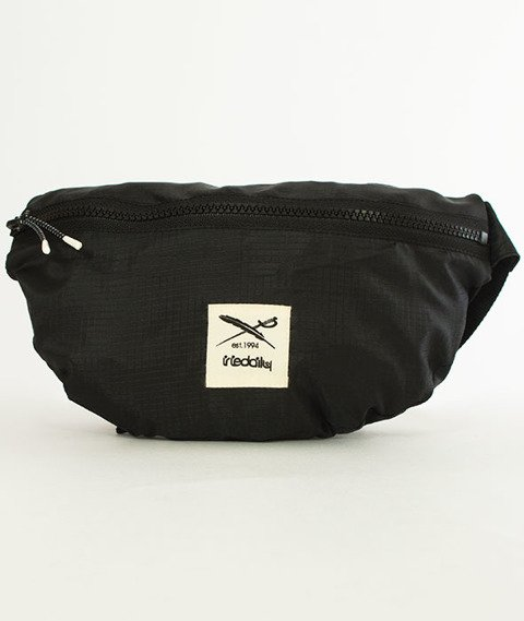 Iriedaily-Gridstop Hip Bag Black