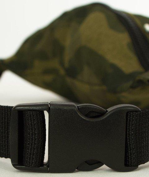 Iriedaily-Gridstop Hip Bag Camou Olive