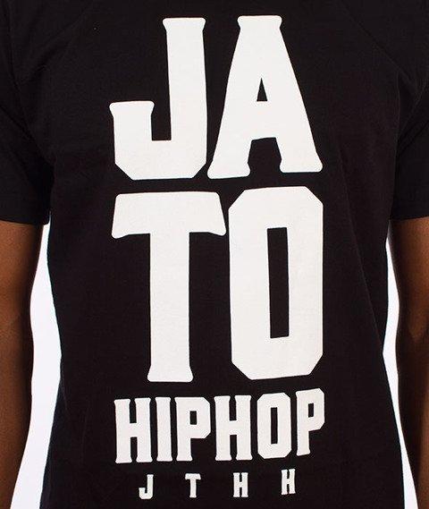 JTHH-Ja To Hip Hop T-shirt Czarny