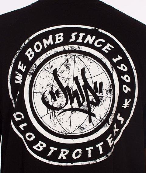JWP-Globetrotter T-shirt Czarny