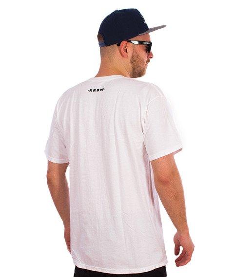 KR3W-JBrown Tophat T-Shirt Biały