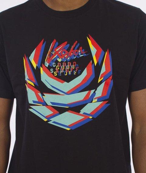 Koka-Blurry T-Shirt Czarny