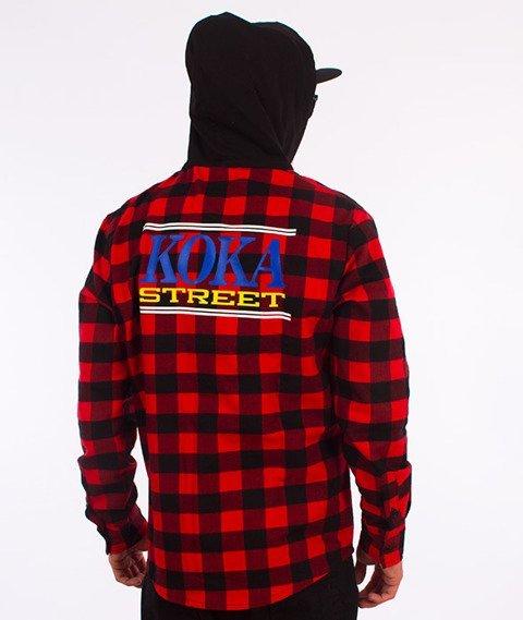 Koka-Havoc Koszula z Kapturem Czerwona/Czarna