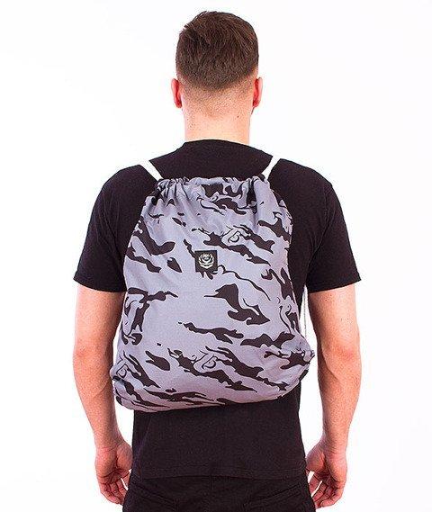 Koka- Naked Camo Back Bag Grey/Black