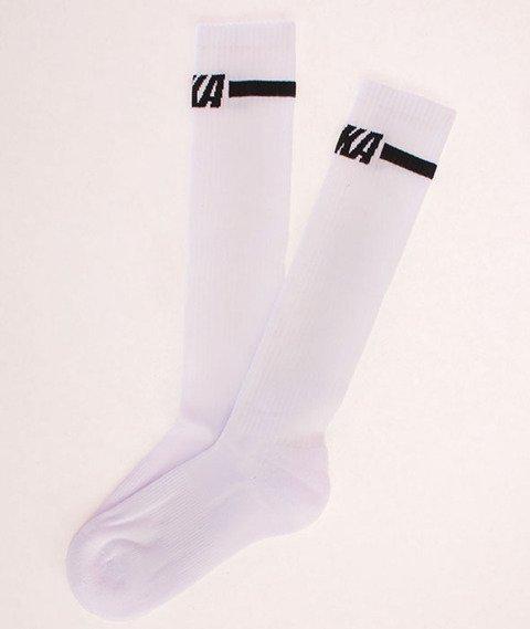 Koka-WMNS TFTR Logo Socks White