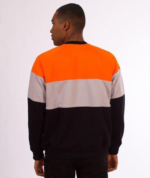 Lucky Dice-3 Panels Crewneck Bluza Orange