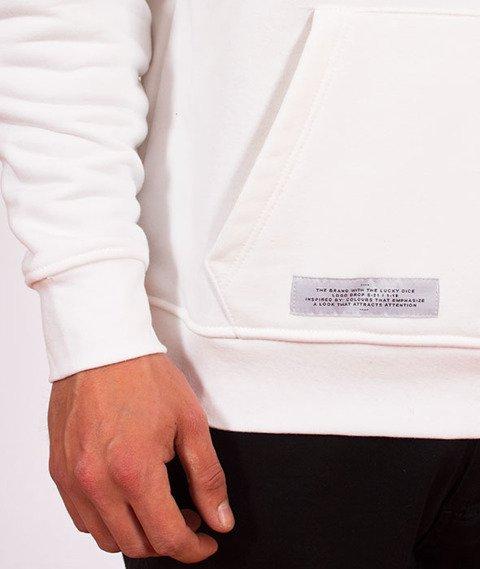 Lucky Dice-Hoodie Logo Bluza White/Gold