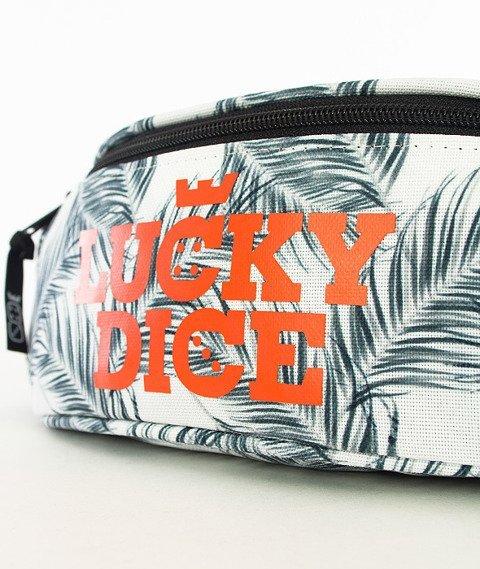 Lucky Dice-Logo Black Leaves Saszetka Multikolor