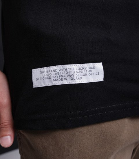 Lucky Dice Logo T-Shirt Czarny