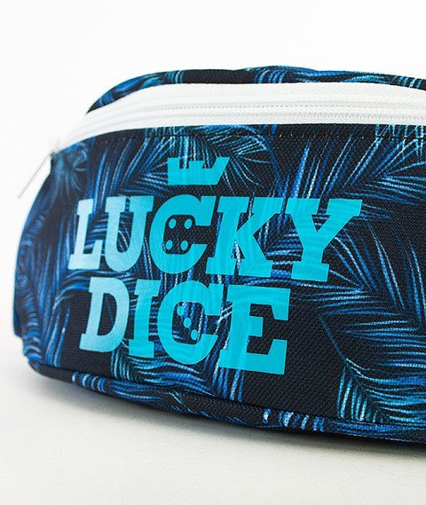 Lucky Dice-Logo Violet Leaves Saszetka Multikolor