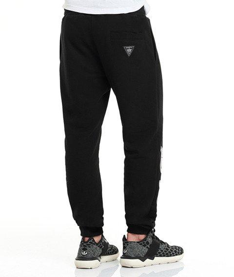 Lucky Dice-SP College Sweatpants Spodnie Dresowe Czarne