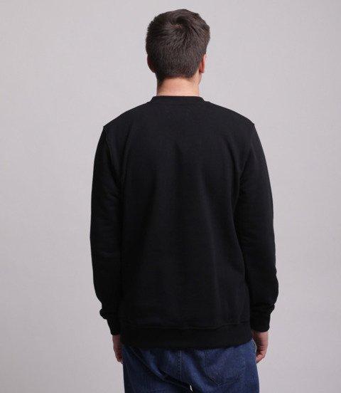 Lucky Dice Simple Dice Bluza bez kaptura Czarny/Złoty