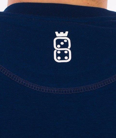 Lucky Dice-Simple Dice RND Bluza Granatowa