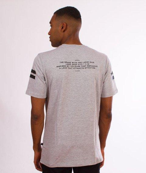 Lucky Dice-VHS T-shirt Szary