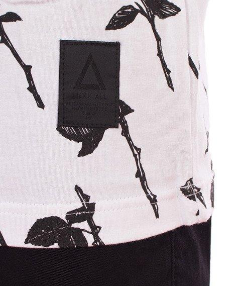 LuxxAll-Death Rose T-Shirt Biały
