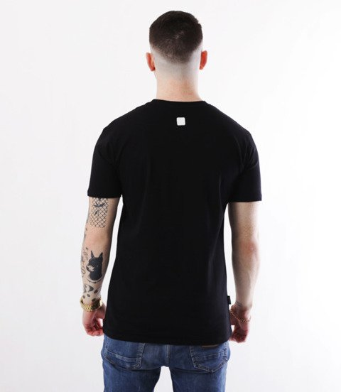 METODA -Name T-Shirt Czarny