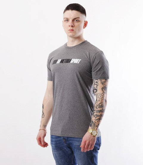 METODA -Race T-Shirt Szary