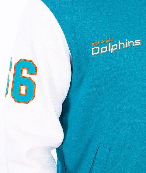 Majestic-Miami Dolphins Baseball Turquoise/White