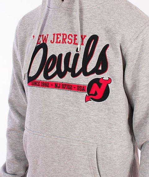 Majestic-New Jersey Devils Hoodie Grey