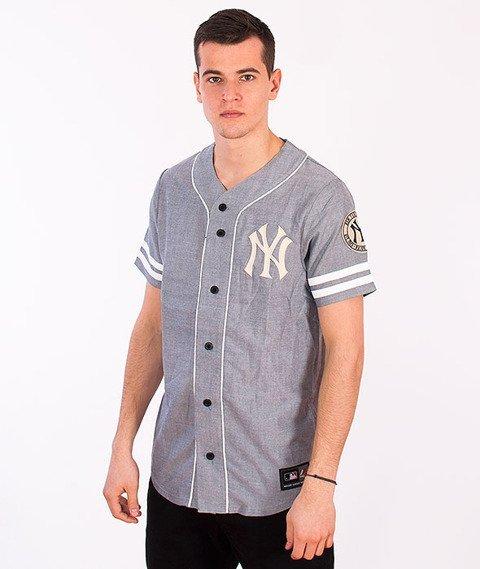 Majestic-New York Yankees Jersey Grey