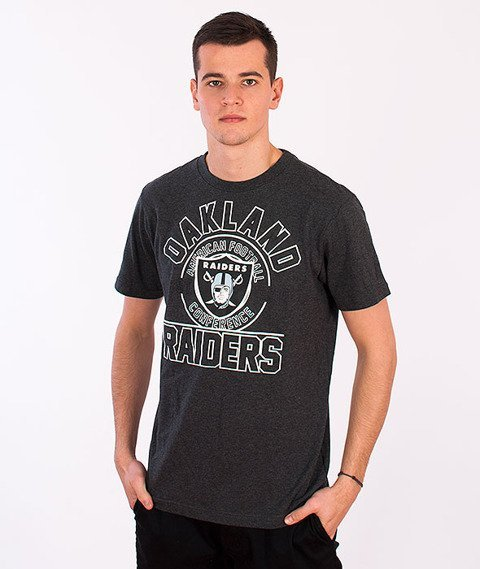 Majestic-Oakland Riders T-shirt Dark Grey