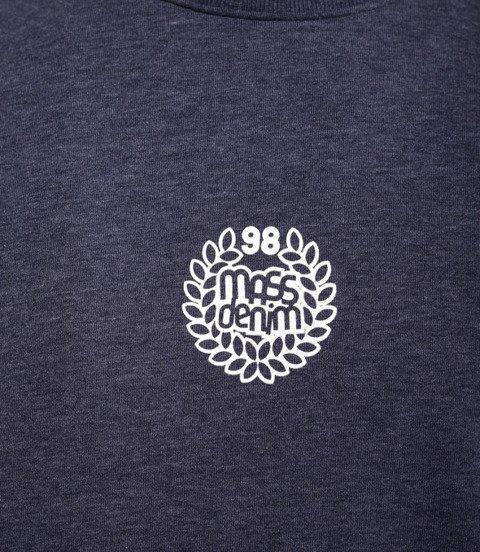 Mass BASE SMALL LOGO Bluza Melanż Granatowy