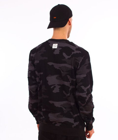 Mass-Base Bluza Black Camo