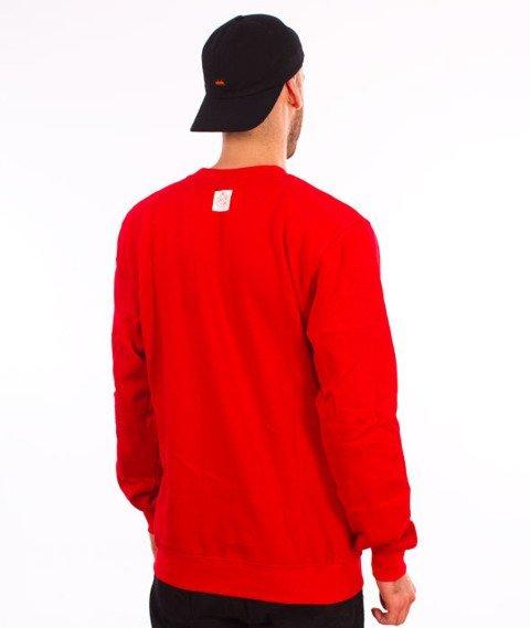Mass-Base Bluza Crewneck Red