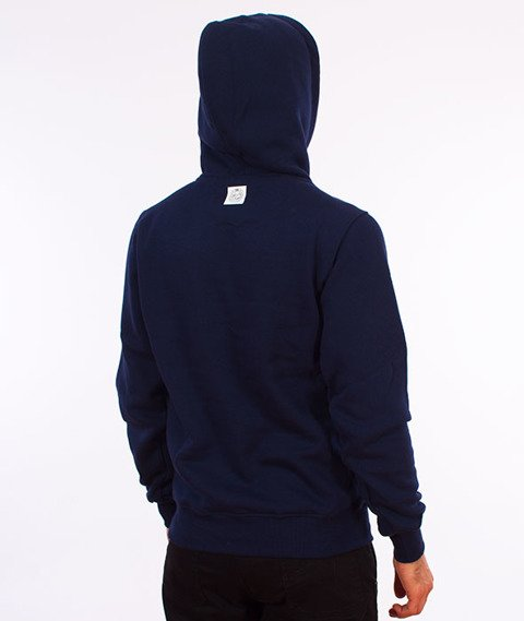 Mass-Base Bluza Kaptur Navy
