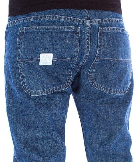 Mass-Base Jogger Pants Sneaker Fit Spodnie Blue