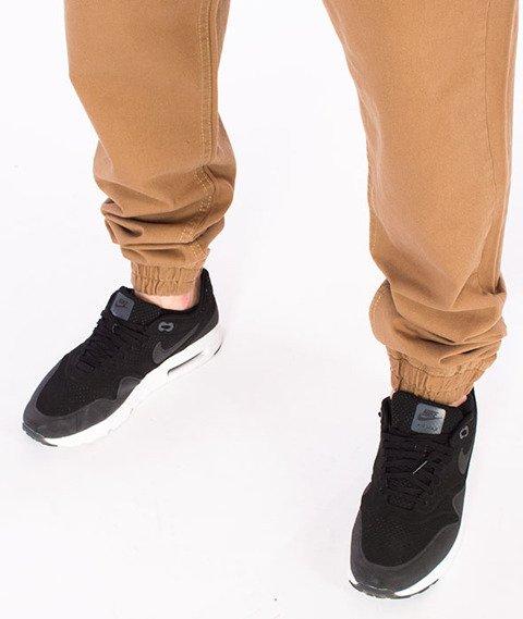 Mass-Base Jogger Pants Spodnie Beżowe