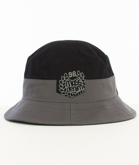 Mass-Base Pocket Bucket Hat Czarny/Szary