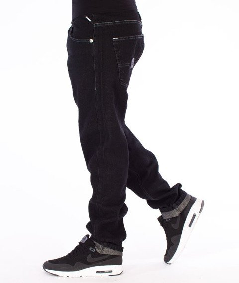 Mass-Base Regular Fit Jeans Black Rinse