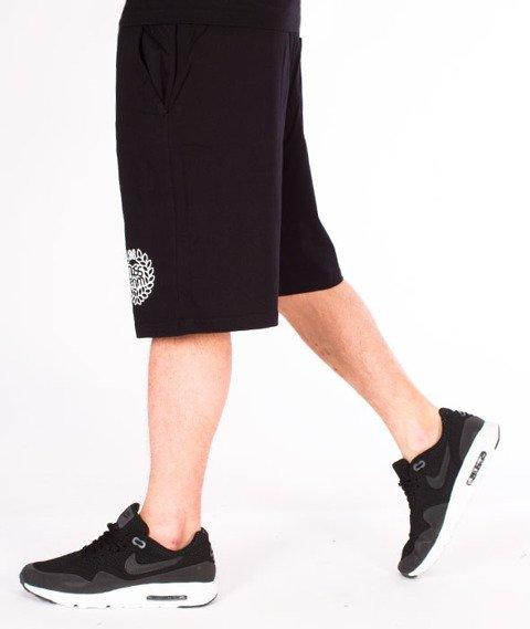 Mass-Base Spodnie Dresowe Krótkie Black