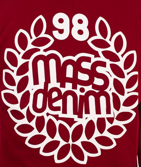Mass-Base T-Shirt Bordowy