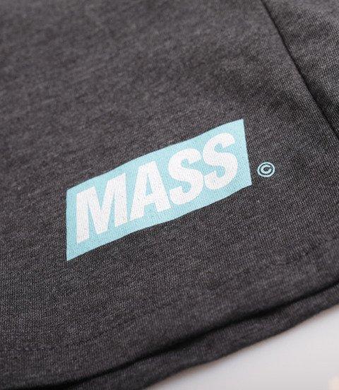 Mass Big Box Spodnie Krótkie Ciemny Szary