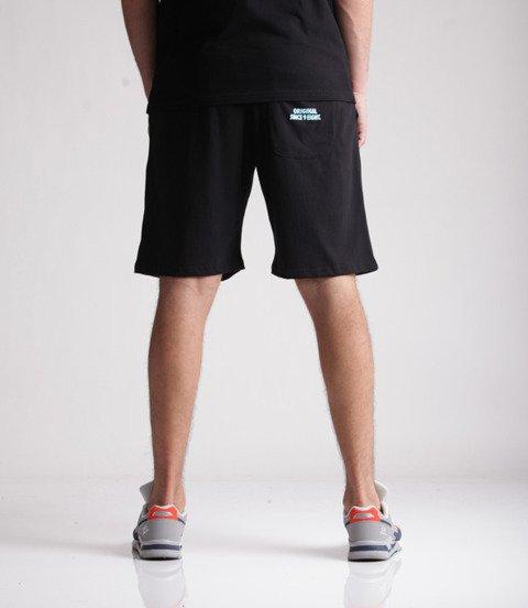 Mass Big Box Spodnie Krótkie Czarny