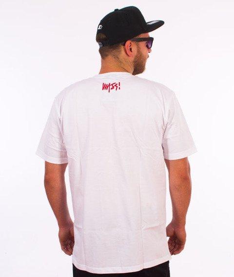Mass-Bomb Girl T-shirt Biały