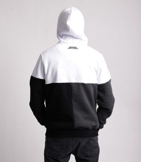 Mass CAPITAL Bluza z Kapturem Biały