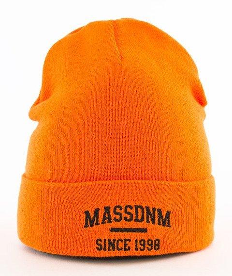 Mass-Campus Beanie Czapka Zimowa Orange