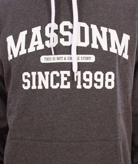 Mass-Campus Hoody Bluza Dark Heather Grey