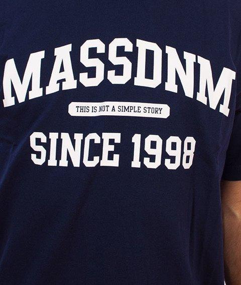 Mass-Campus T-Shirt Granatowy