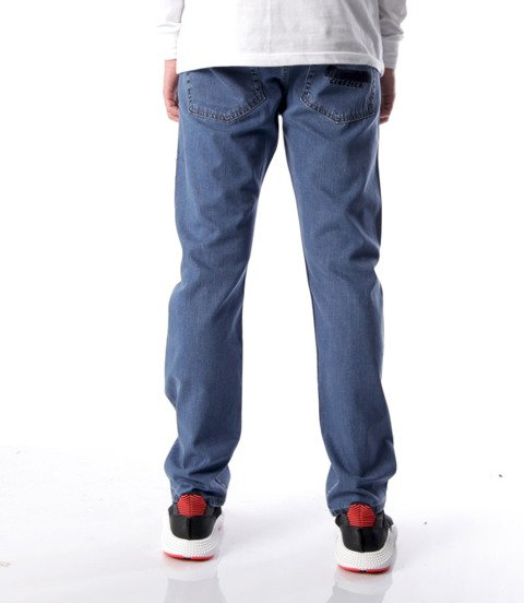 Mass Classics Jeans Straight Fit Niebieskie