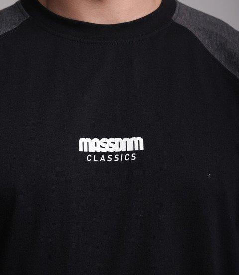 Mass Classics Small Logo Longsleeve Czarny/Szary