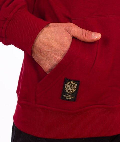 Mass-Crown Bluza Kaptur Claret