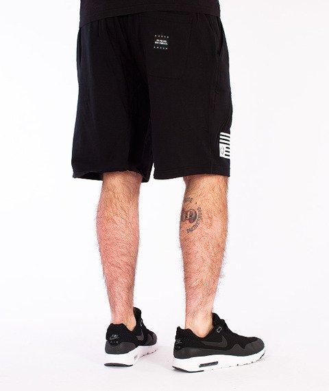 Mass-Empire Spodnie Dresowe Krótkie Czarne